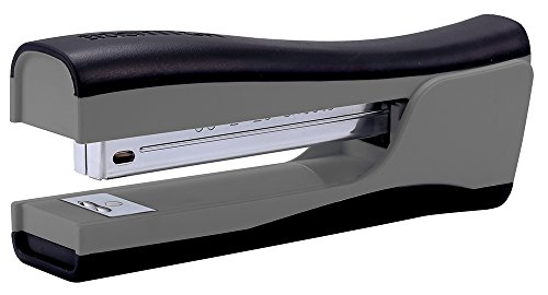 Bostitch Dynamo Stand-Up Stapler with Built-in Pencil Sharpener, Staple Remover and Staple Storage, Gray (KT-B696-GRAY)