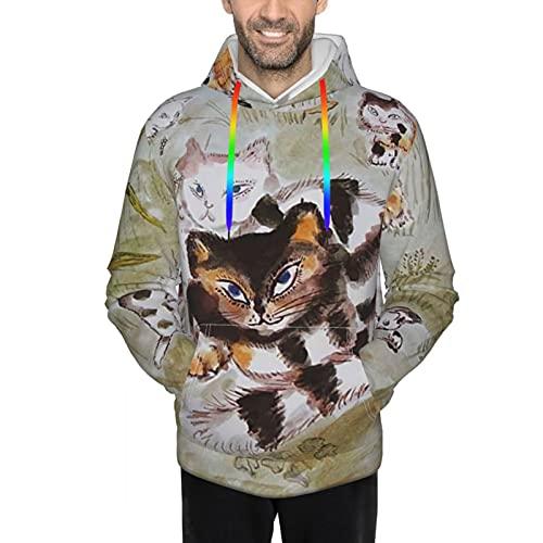 人気 男女兼用 100万回生きたねこ (4) スウェットシャツ 保温する 長袖パーカー 防寒 応援服 暖かい プルオーバー ゆったり トップス かっこいい カットソー フード付きtシャツ プルオーバー