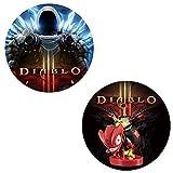 2pcs Diablo III Amiibo Cards NFC Mini Game Cards:Eternal Collection Nintendo Switch