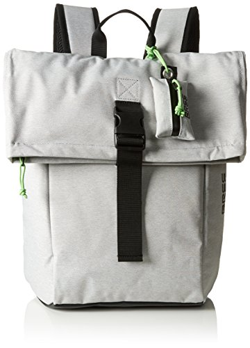 BREE Collection Unisex-Erwachsene Punch 93 Rucksack, Grau (light grey), 12x42x36 cm