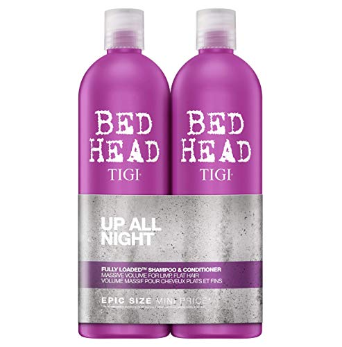 Bed Head by Tigi Fully Loaded Volume Shampoo and Conditioner for Fine Hair 2 x 750 ml