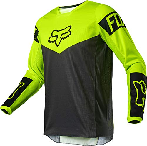 180 REVN Jersey, Fluorescent Yellow, Medium
