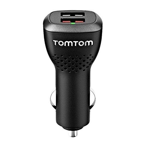 TomTom 9UUC.001,22 - Cargador para GPS, negro