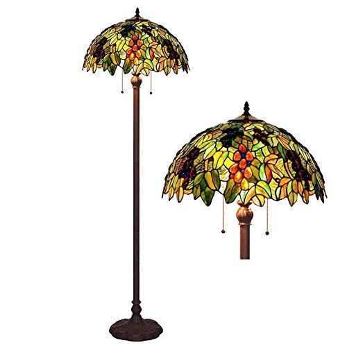 Tiffany Style Grape Floor Lamp