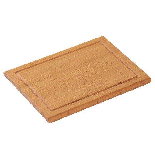 Kesper 58100 Planche à découper certifiée FSC en bambou 31 x 21 x 1,8 cm