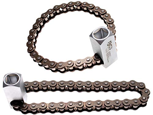 BGS 1033 | Llave de cadena para filtros de aceite | Ø 65 - 115 mm