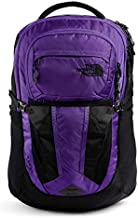 The North Face Women's Recon Backpack, Peak Purple Ripstop/TNF Black, One Size