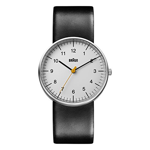 Braun Mens Analogue Classic Quartz Watch with Leather Strap...