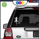 mural stickers Pegatina para coche, caravana, Land Rover, 4 x 4, diseño de gekko tribal