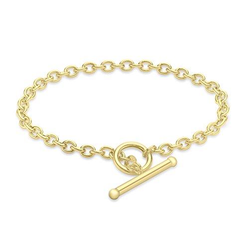 Carissima Gold Damen - Armband 9 k (375) Rundschliff Diamant 1.24.4582