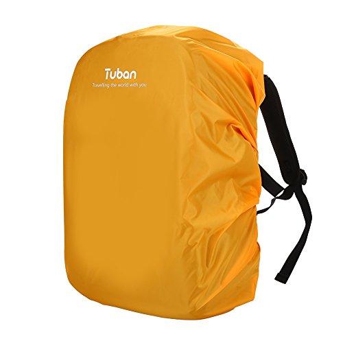 Rugzak Cover Waterdichte stofdichte regenhoes voor Outdoor Wandelen Camping Klimmen Reizen, Ultralight Regenjas, Maximaal 40L ORANJE