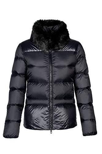 Equline Damen Daunenjacke OWL Größe XS, Farbe schwarz