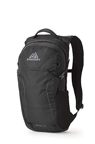 Gregory Mountain Products Nano 18 Everyday Outdoor Backpack, Obsidian Black, one Size