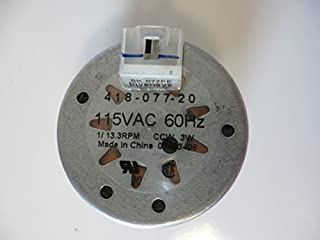 418-077-20 Invensys Timer Motor 115VAC 60Hz 1/13.3 RPM Counter Clockwise 3W