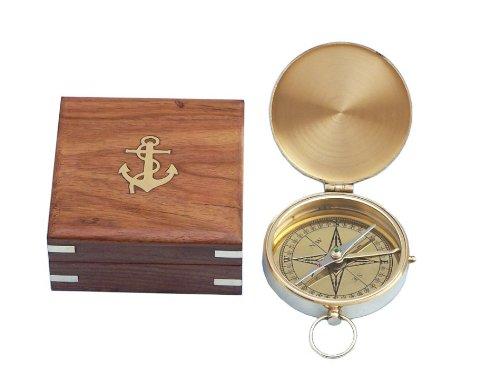 Hampton Nautical Gentlemens Compass Rosewood