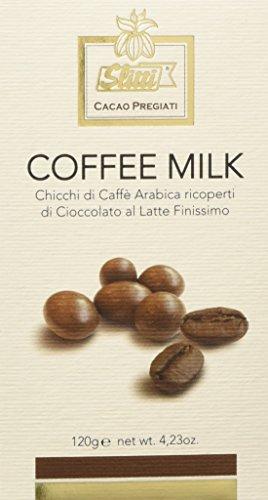 Slitti Chicchi di Caffè Arabica Ricoperti di Cioccolato al Latte ad Alto Contenuto di Cacao - 120 G