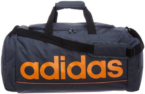 adidas Basic Essentials Borsone S 50 cm, (antracite/arancione), m