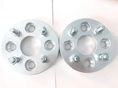 At the price 2pcs Max 55% OFF Aluminum Wheel Adapters Spacers Bolt Vehicle 2