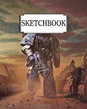"Sketchbook: Warhammer 1 : 100 Pages of 8"" x 10"" Blank Paper for Drawing (Sketchbooks)"