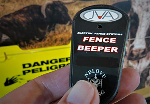 JVA Electric Fence Beeper with Keyring. This Novel Device Simply beeps When it Close to a Live Electric Fence Wire.
