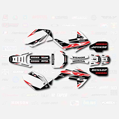 Red Shift Graphics Kit Fits Honda CRF150R 07-17 Decals CRF 150 Decal