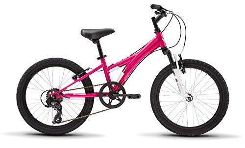 """Diamondback Bicycles Tess 20 Youth Girls 20"""" Wheel Mountain Bike, Pink"""