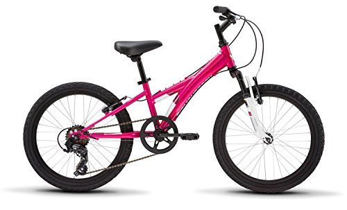Diamondback Bicycles Tess 20 Youth Girls 20' Wheel Mountain Bike, Pink