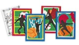 Sand Art Boards 5'x7' - Sports (pack of 12)