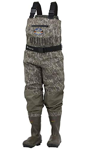Frogg Toggs 2711850-10 Grand Refuge 2.0 Breathable & Insulated Chest Wader, Moon Bottomland, 10