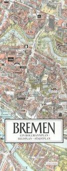 Stadtplan Bremen in 3D von Bollmann