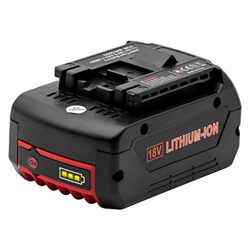 Vinso Batterie de rechange pour Bat609 18 V 5 Ah