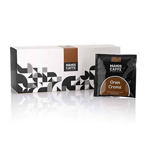 Mamis Caffè Gran Crema 100% Arabica Kaffee in Pads für Kaffeemaschinen (E.S.E.) 15 x 7gr