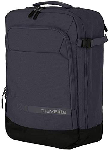 travelite Handgepäck Rucksack / Tasche erfüllt IATA Bordgepäck Maß, Gepäck Serie KICK OFF: Praktischer Rucksack für Urlaub und Sport, 006912-04, 50 cm, 35 Liter, d'anthrazit (grau)