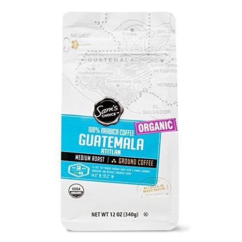 Sam's Choice Organic Guatemala Atitlan Ground Coffee