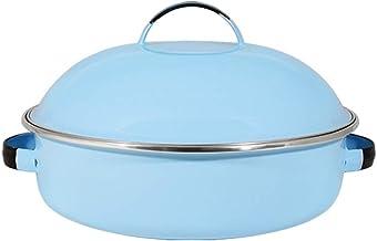Fritadeira 26 Esmaltada Azul Claro - 4000 ml - Ewel