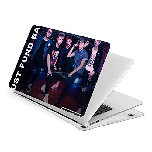 W_H_Y Dx_N'T We - Funda para MacBook Air 13 compatible con MacBook Apple Laptop Electric Skull Smooth Cover Cover protectora Air13
