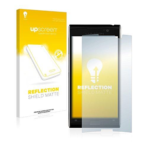 upscreen Entspiegelungs-Schutzfolie kompatibel mit Lumigon T3 – Anti-Reflex Bildschirmschutz-Folie Matt