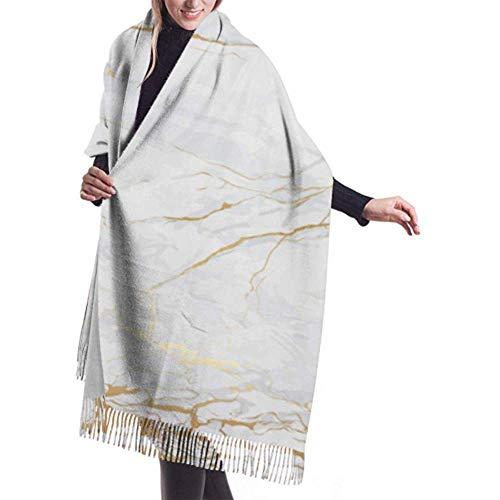Lichtgewicht reissjaal marmer wit en tegels keramiek dames wikkelsjaal reissjaal lichte warme deken