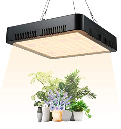 GAMERKING lamparas led Cultivo LED Plant Grow Light 1000W con 100 pcs led Light de Espectro Completo para Vegetales hidropónicos Plantas de Interior Flores plántulas Invernadero Impermeable(B-1000)