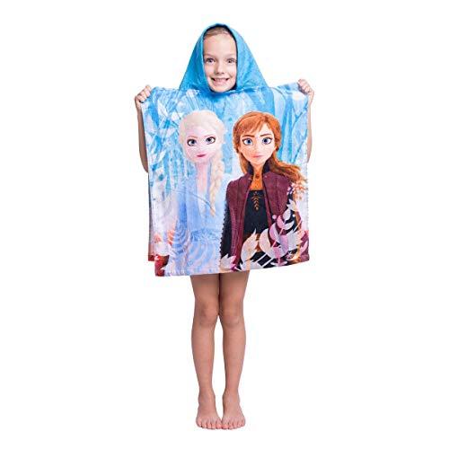 Jerry Fabrics Disney Frozen 2 Hooded Toalla Poncho