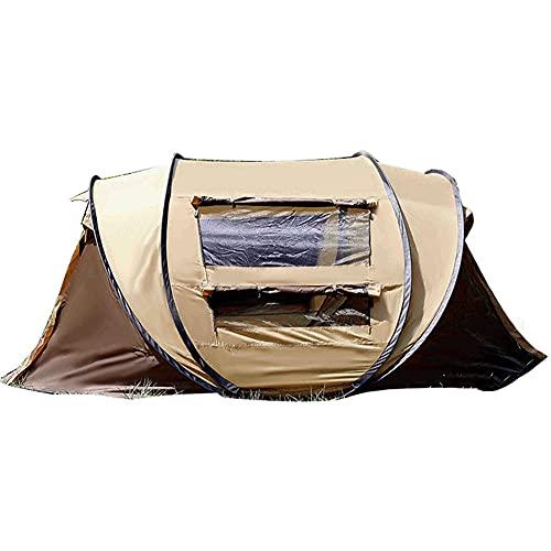 ZFRXIGN Tragbares Handgeworfenes Bootszelt Im Freien, Rundes Zelt Mit Großem Platzangebot, Automatisches Regensicheres Strandzelt Am Strand