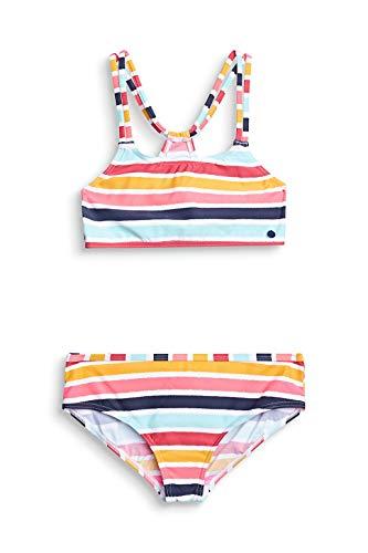 ESPRIT Bustier-Bikini-Set mit Multicolor-Streifen