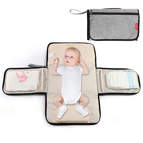Fasciatoio portatile, fasciatoio pieghevole, piccola borsa fasciatoio, leggero, impermeabile e durevole, fasciatoio da viaggio per bambini, fasciatoio da viaggio