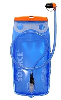 Source Widepac Réservoir d'eau Mixte Adulte, Bleu, 2 l
