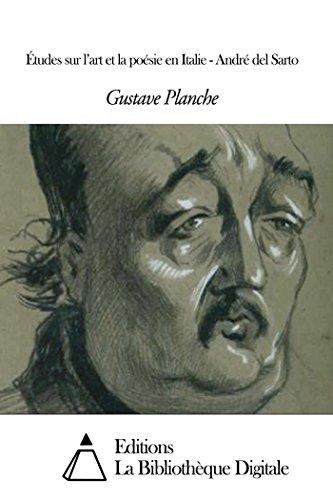 Études sur l'art et la poésie en Italie - André del Sarto (French Edition)