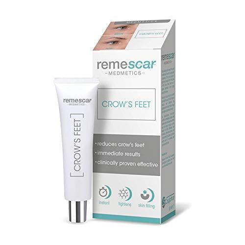 Remescar - Augencreme für Krähenfüße - Klinisch nachgewiesene Augencreme zur Reduzierung von Krähenfüßen - Anti-Aging-Augencreme für Männer & Frauen - Filler gegen feine Linien & Fältchen