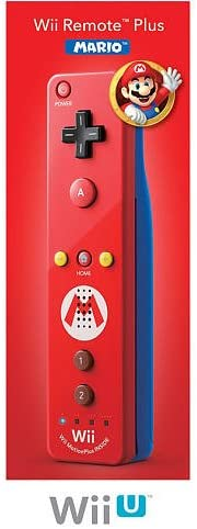 Nintendo Wii Remote Plus Mario - Red