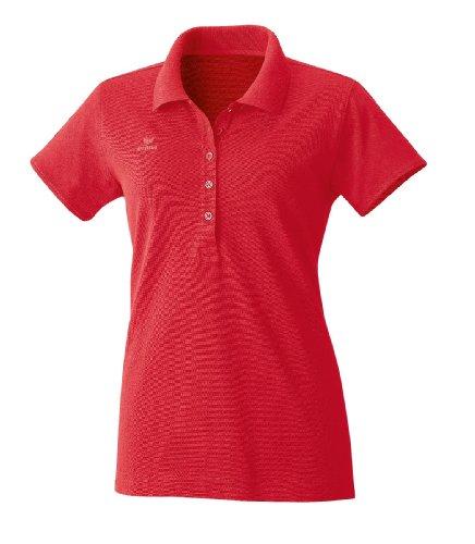 Erima Damen Basic Line Polohemd, rot, 44