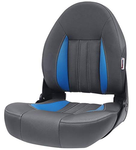 Tempress ProBax Orthopedic Limited Edition Boat Seat (Charcoal/Gray/Blue)