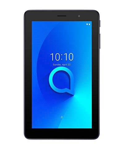 Alcatel 1T 7  Tablet WIFI, Display 7  FWVGA, 16 GB, 1GB RAM, Quad Core, Android, Batteria 2580 mAh, Blue [Italia]